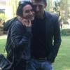 Nicole Minetti a spasso per Saronno con Luciano Silighini
