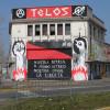 Telos: ecco i nuovi graffiti dello stabile di via Milano