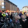 Centotrenta in bicicletta per la ferrovia dimenticata