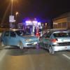 Incidente frontale all'uscita autostradale
