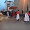 Fedeli da tutta la città per la processione del Corpus Domini al Matteotti