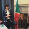 """Migranti: """"Svolta epocale"""", Lara Comi con Alessandra Mussolini all'Europarlamento"""