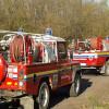 Parco Groane in fiamme: pompieri mobilitati. Anche con l'elicottero.