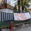 Improvvisata degli anarchici al parco di via Don Monza