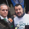 Salvini finisce in tribunale per i manifesti sui profughi della Lega di Saronno