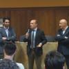 """Mostra: Uboldo """"riciclona"""" con il presidente provinciale Gunnar Vincenzi"""
