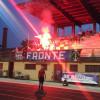 Calcio Eccellenza: il Fbc Saronno con gli ultras a Rezzato, foto e tabellino