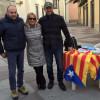 Lazzate sventola le bandiere della Catalogna indipendente
