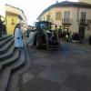 La Sant'Antonio lazzatese, in trattore e a cavallo per il centro del Borgo