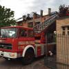 Terrazzo… in fiamme al rione Matteotti