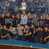 Softball giovanile indoor al palasport di Caronno Pertusella