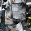Vigili del fuoco saronnesi a Tradate per un incendio in officina