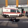 Brutto incidente in Varesina, ferito un centauro
