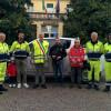 Cislago, consegnato un defibrillatore alla Protezione civile