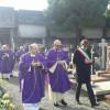 Uboldo, la cappella del cimitero luogo di riposo dei sacerdoti: la cerimonia