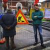 Ceriano Laghetto: il sindaco visita il cantiere di via San Francesco
