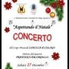La banda in concerto per gli auguri di Natale
