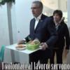 """Librandi """"cameriere""""alla mensa di Sant'Egidio"""