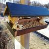Al Parco degli aironi una mangiatoia per gli uccellini