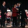 Per Uboldo e + Giovani per Uboldo regalano xilofono alla banda