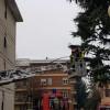 Incendio via Miola: il padrone di casa all'ospedale