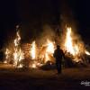 Le Groane vanno a fuoco per Sant'Antonio