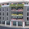 Palazzina di 5 piani tra piazza Aviatori e via San Cristoforo