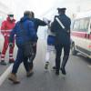 Incendio: esagitato aggredisce le forze dell'ordine