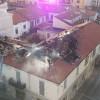 Incendio via San Giuseppe: il fuoco ha divorato il tetto