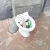 Gerenzano, lasciano per strada un wc