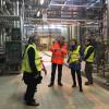 Heineken: Lara Comi in visita alla fabbrica della birra