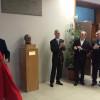 Scientifico: busto dedicato a GB Grassi nell'atrio dell'istituto