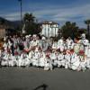 Gerenzano, banda e majorettes al Carnevale di Stresa