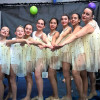 Gerenzano, le ragazze del twirling conquistano cinque medaglie
