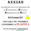 Cislago, stop alla plastica al centro rifiuti