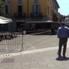"Pavimentazione ""gonfia"" in piazza Libertà: prime riparazioni"