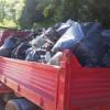 Ceriano Laghetto, raccolta montagna di rifiuti nelle Groane