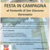 Gerenzano, festa in campagna al Fontanile