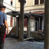 Fiamme a Villa Gianetti, bruciato gazebo e facciata: tutte le foto