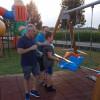 Palasport Gerenzano, taglio del nastro per l'area gioco dei bambini