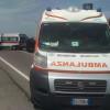 Auto contro moto, arriva l'elisoccorso. Paralizzata via Parma
