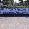 Profughi a Lazzate, i cittadini in strada per protesta