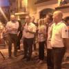 Profughi a Lazzate, anche il sindaco Fagioli dice la sua in piazza