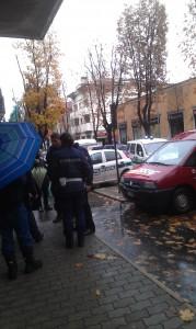 polizia locale in viale Rimembranze