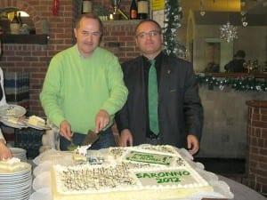 Dario Galli e Alessandro Fagioli (Lega Nord Saronno)