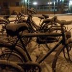 bici in stazione centrale saronno