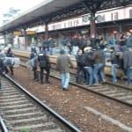 stazione occupata studenti