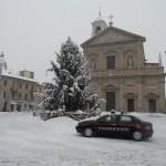 carabinieri pattuglia neve