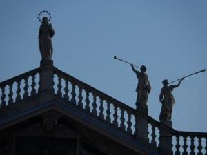 facciata santuario sole cielo azzurro