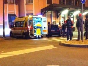 ambulanza stazione notte